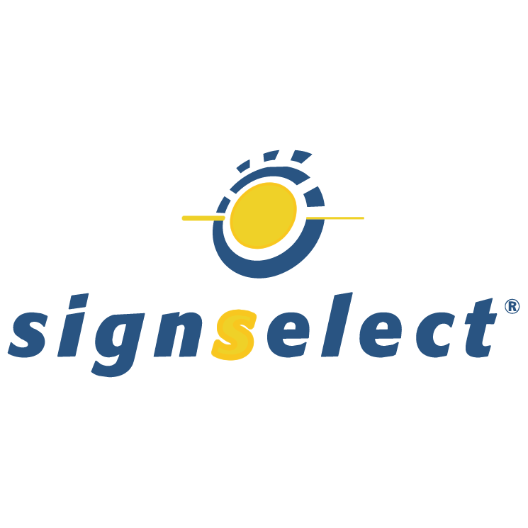 free vector Signselect