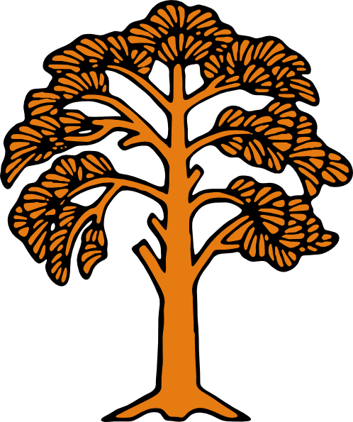 free vector Silhouette Of A Tree clip art