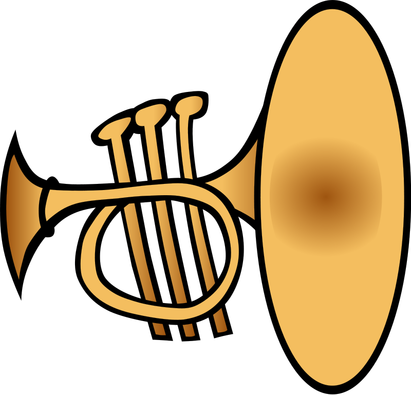 free vector Silly trumpet