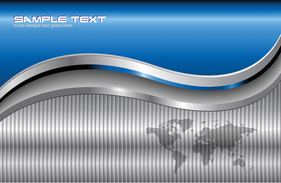 free vector Silver card background vector