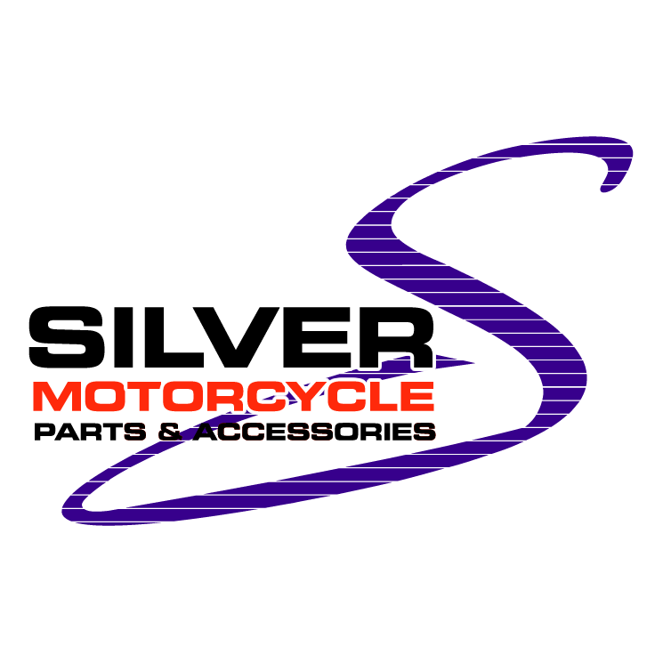 free vector Silver motorcycle