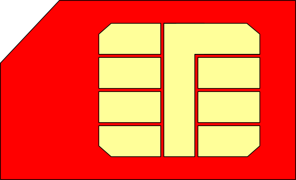 free vector Sim Card Gsm clip art