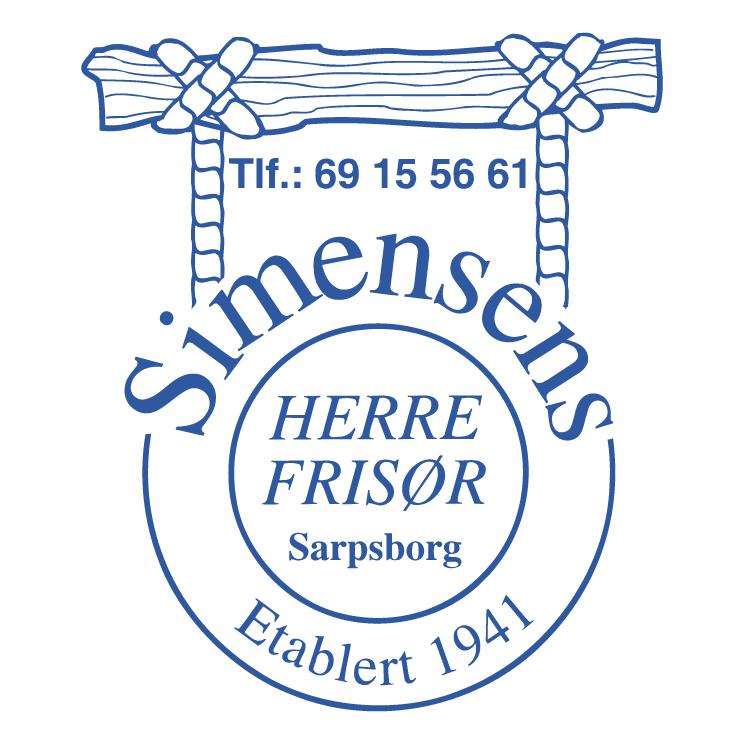 free vector Simensens frisor
