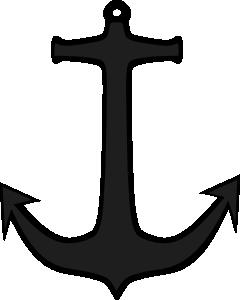 free vector Simple Anchor clip art