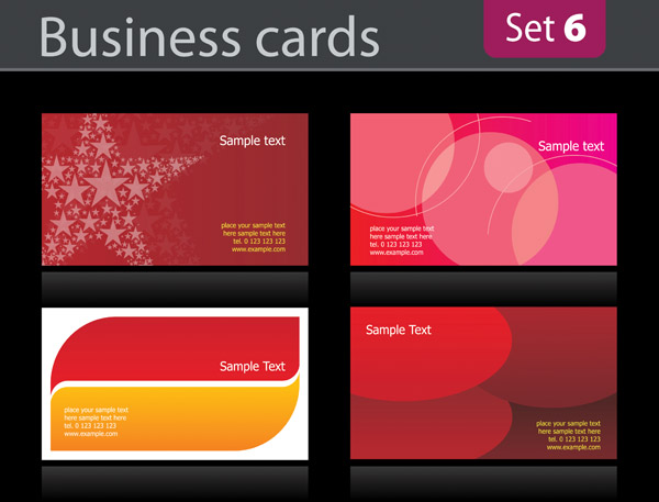 simple business card background  16379  free eps download