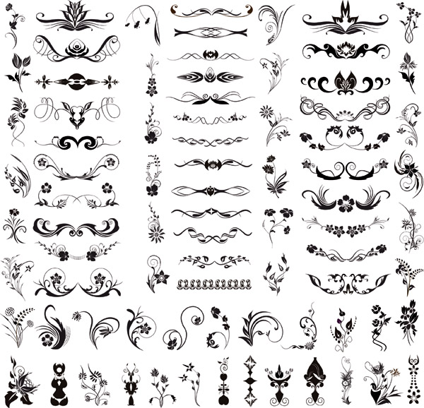 free vector Simple fashion pattern vector