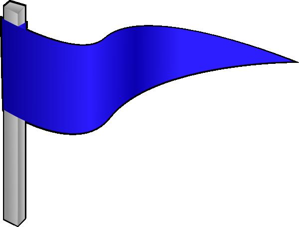 free vector Simple Flag On A Pole clip art