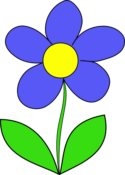 simple flower clip art free vector 4vector rh 4vector com free flower clip art images free flower clip art borders