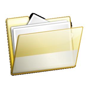 free vector Simple Folder Documents clip art