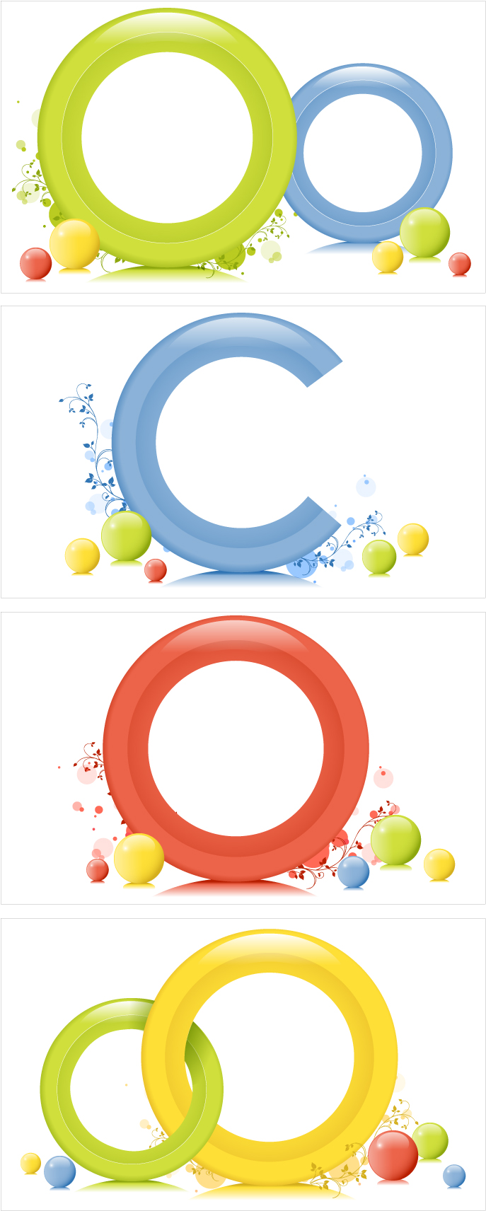 free vector Simple graphics vector 10