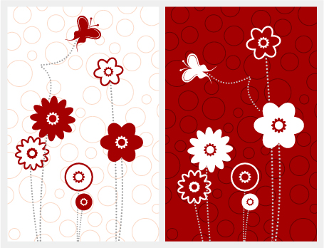 free vector Simple lovely pattern vector