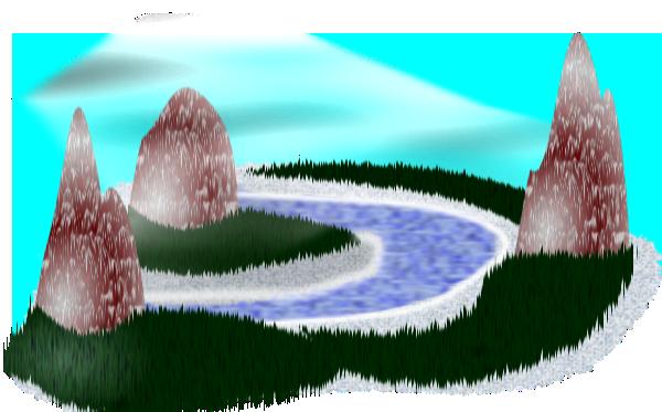 free vector Simple Rpg Scenery clip art