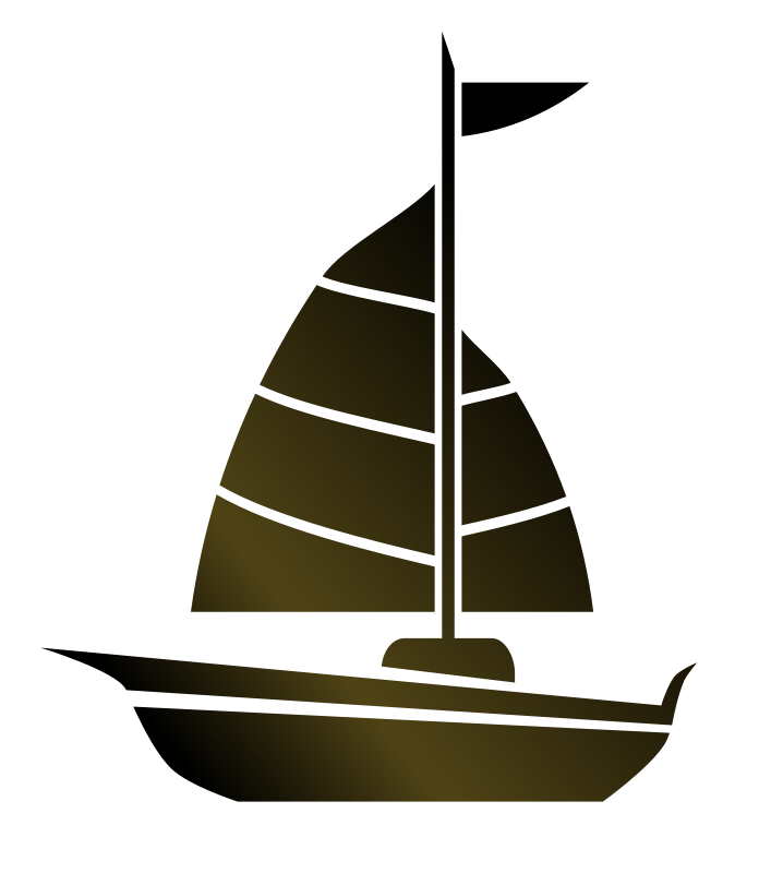 free vector Simple Sailboat