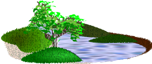 free vector Simple Scenery clip art