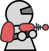 free vector Simple Space Platform Game Stuff clip art