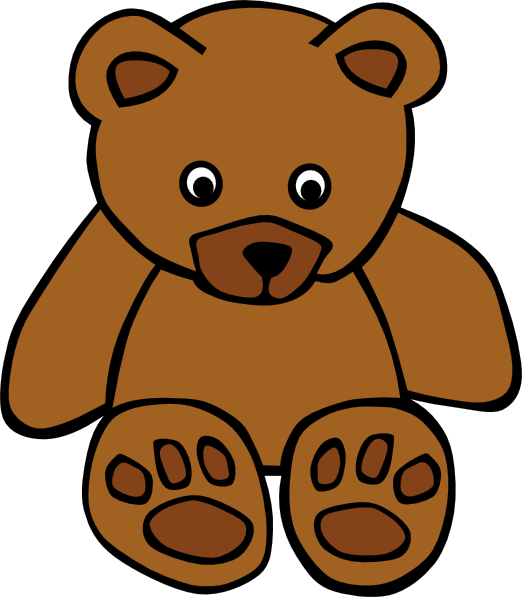 simple teddy bear clip art free vector 4vector rh 4vector com teddy bear vector silhouette teddy bear vector images free download