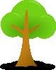 free vector Simple Tree clip art