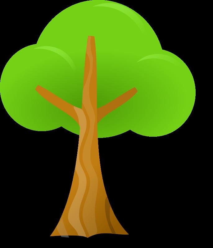 free vector Simple tree
