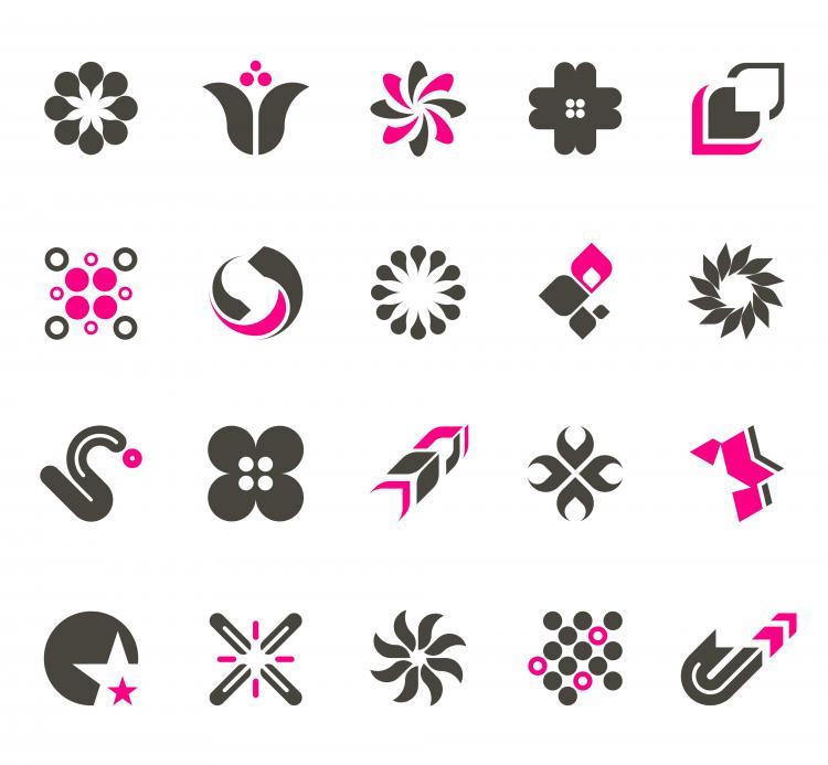 free vector Simple trend vector logo design material 127050