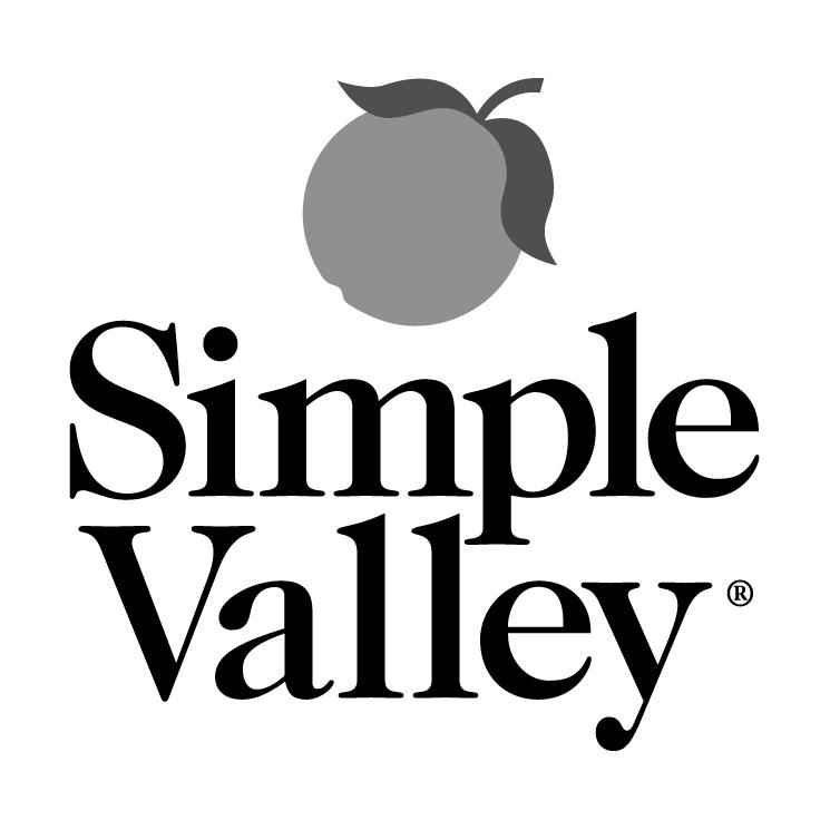 free vector Simple valley