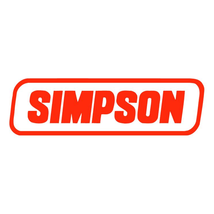 free vector Simpson