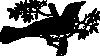 free vector Singins Bird clip art