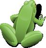 free vector Sitting Frog clip art