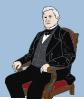 free vector Sitting Man clip art