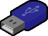 free vector Sivvus Pendrive Icon clip art 104716