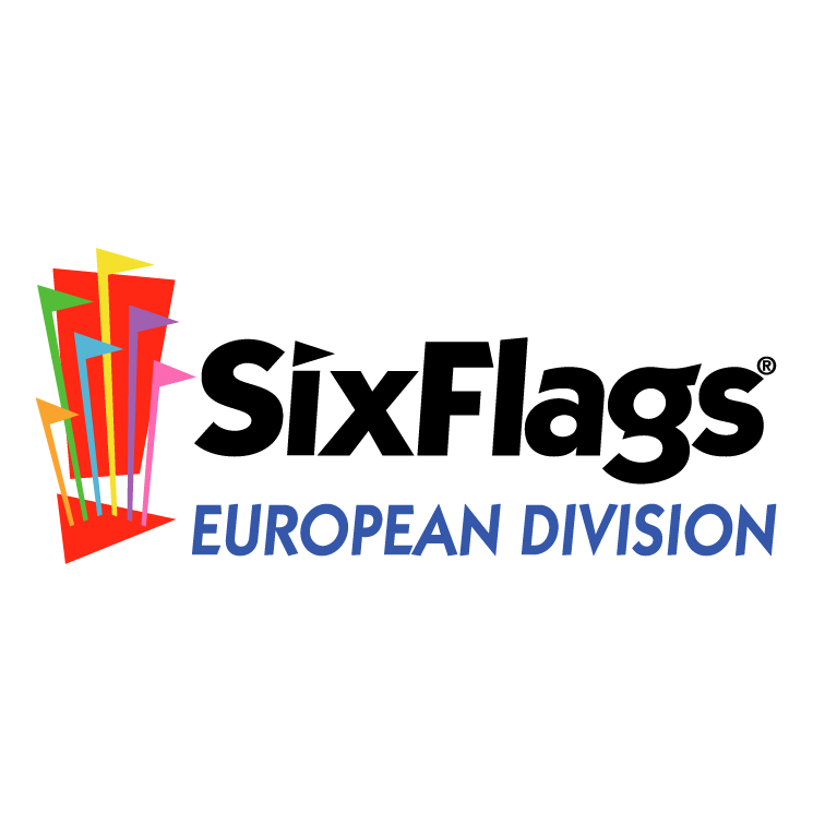 free vector Six flags european division 0