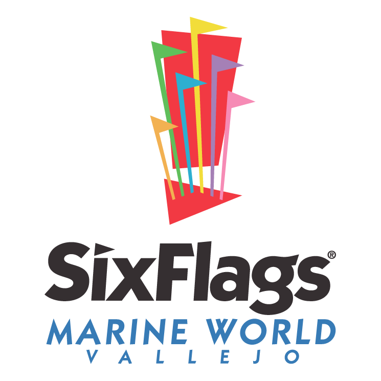 free vector Six flags marine world