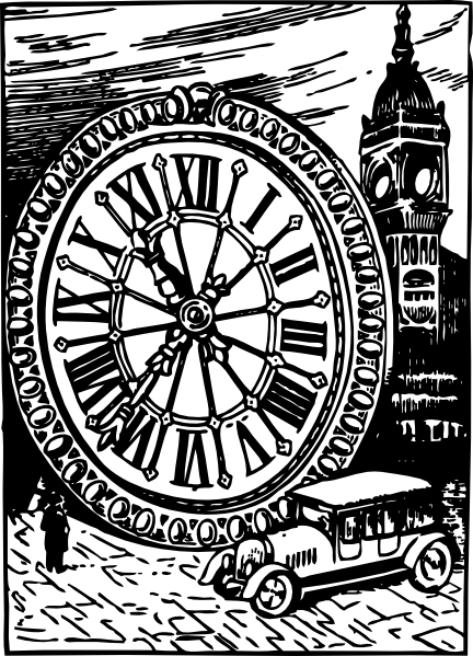free vector Size Of Big Ben clip art