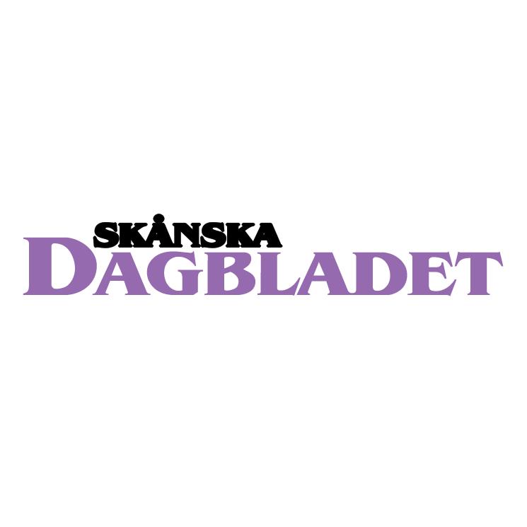 free vector Skanska dagbladet