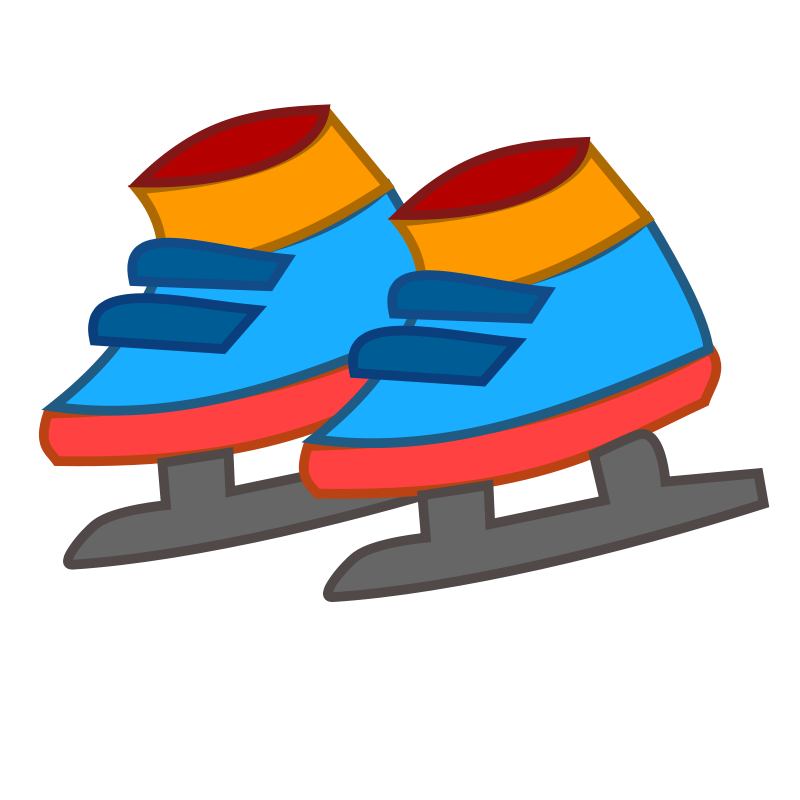 free vector Skating shoes icon