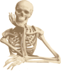 free vector Skeleton Friend clip art