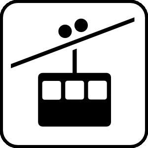 free vector Ski Lift clip art
