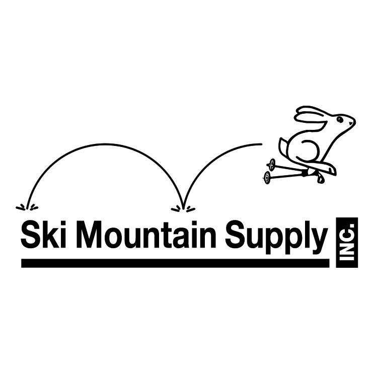 free vector Ski mountain supply