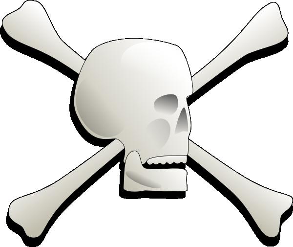 free vector Skull-and-bones-aj clip art