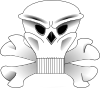 free vector Skull And Bones clip art