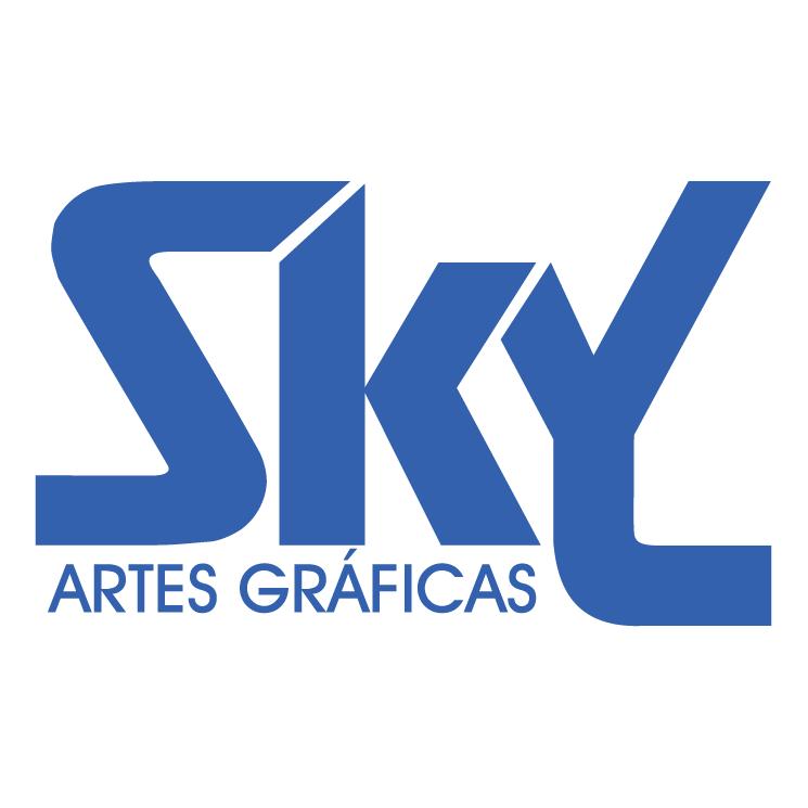free vector Sky artes graficas do brasil