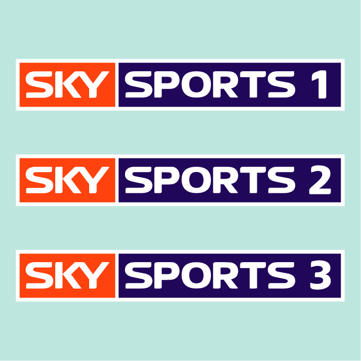free vector Sky sports 12 and 3