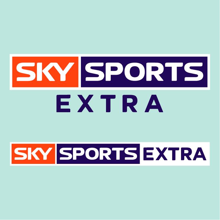 free vector Sky sports extra