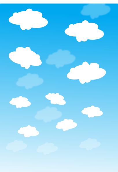 free vector Sky With Clouds clip art
