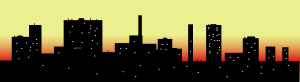 free vector Skyline Cityscape Sky Scrapers clip art
