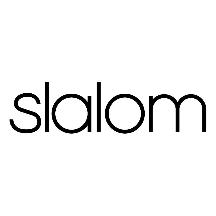 free vector Slalom