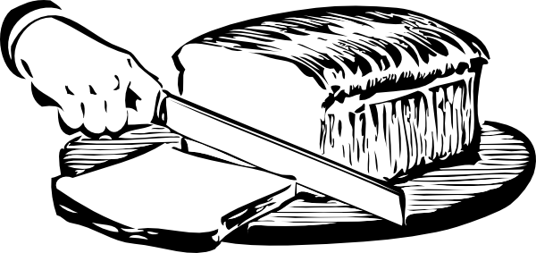 free vector Slicingbread clip art