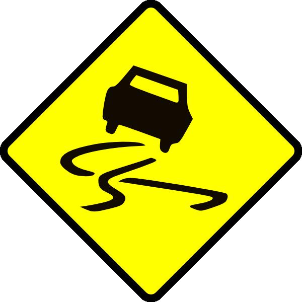 free vector Slippery When Wet clip art