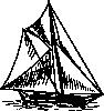 free vector Sloop Ship clip art