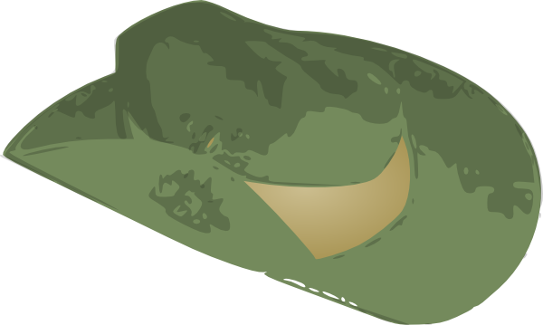 free vector Slouch Hat clip art
