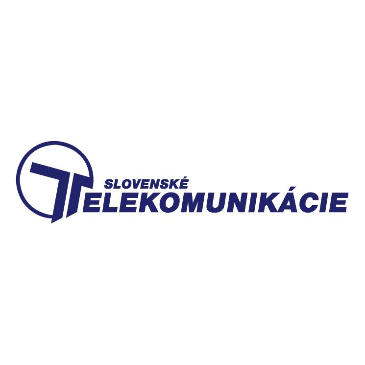 free vector Slovenske telekomunikacie